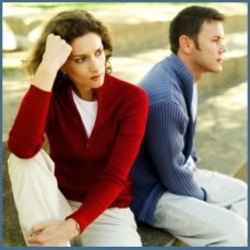 couple stress Talking to Our Spouse About Our Illness: How Much is Too Much?