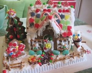 gingerbread house1 300x238 Looking Forward to a Silent Night...