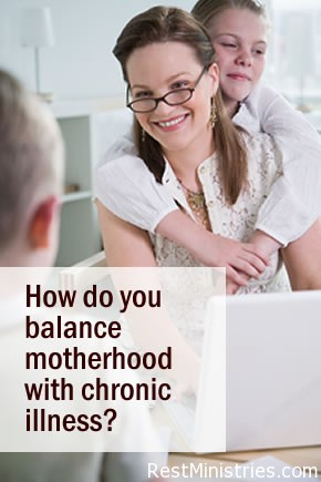 The Art of Balancing Motherhood and Chronic Illness