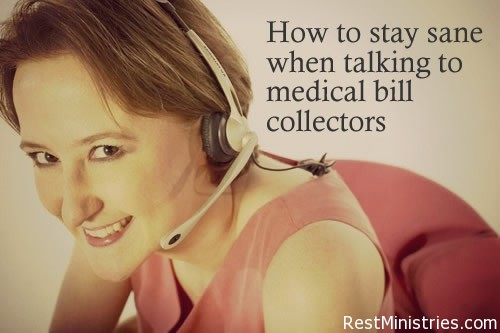 How In The World Do You Find Joy When Talking to A Medical Bill Collector?