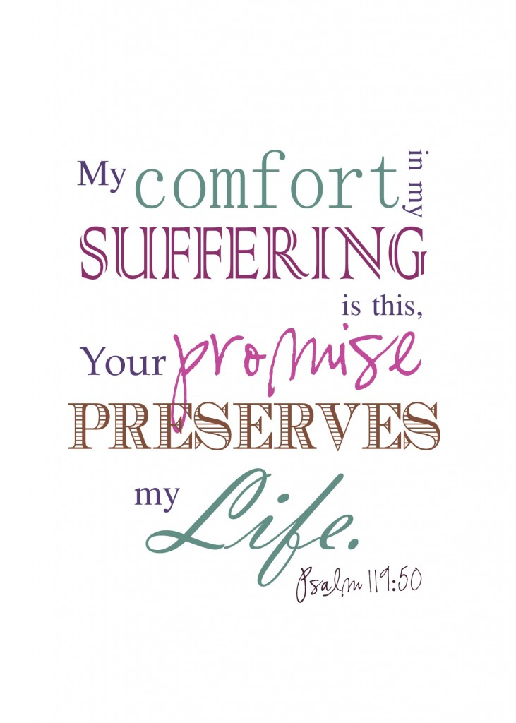 PSA199 501 731x1024 Comfort in Suffering? Lisas Life Verse as a Printable