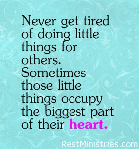 never get tired Make a Difference Today To Someone Who is Hurting