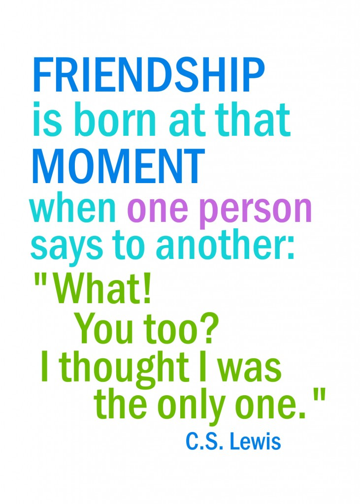 quote friendshipis1 731x1024 I Thought I Was The Only One Printable To Share