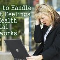 HOW TO HANDLE HURT FEELINGS IN HEALTH SOCIAL NETWORKS: Health social networks can be a tremendous support for the chronically ill, but they can also be a source of many hurt feelings. How do we prevent this? If you have ever been on a health social network, chances are you have had your feeling hurt. It comes with the territory of people being in pain, on and off new meds, lacking sleep and short fuses. Great article if you have a #invisibleillness