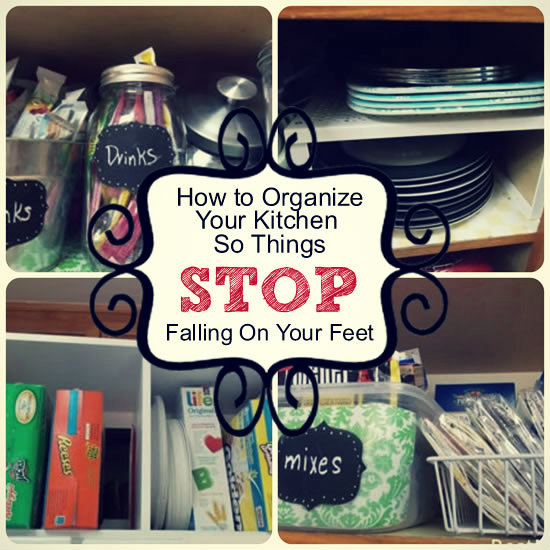 How to Organize Your Kitchen So Things Stop Falling On Your Feet