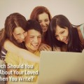 HOW MUCH SHOULD YOU REVEAL ABOUT FRIENDS OR FAMILY WHEN YOU BLOG? @Lisa Copen shares some of the things she tries to remember when telling a story online or in public that involves someone else. Can you be honest without hurting one&#039;s feelings? This article also has scriptures that back up her viewpoints and help explain what we are accountable. Great article for #writers. #NHBPM @wego health