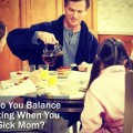 HOW DO YOU BALANCE PARENTING WHEN YOU ARE A SICK MOM? How do you find energy out of depletion? How do you find patience when you cannot tie a single knot to hold on any longer? How do you smile at your child, act like he hung the moon, when he is screaming, &quot;You are the meanest mom in the world!&quot;--because you reminded him to brush his teeth. #NHBPM