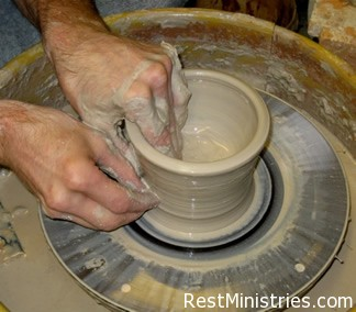 Trusting the Hands of the Potter to Transform His Clay