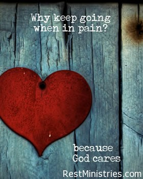 God's Sustaining Love Through the Pain