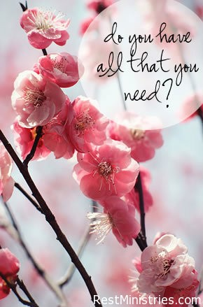 Do You Have All You Need?