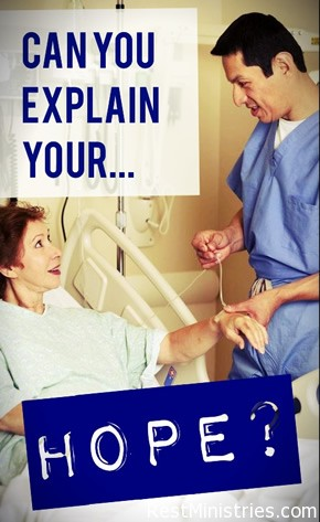 Can You Explain Your Hope Despite Your Illness?