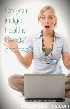 Are You Guilty of Judging Healthy Friends' Choices?