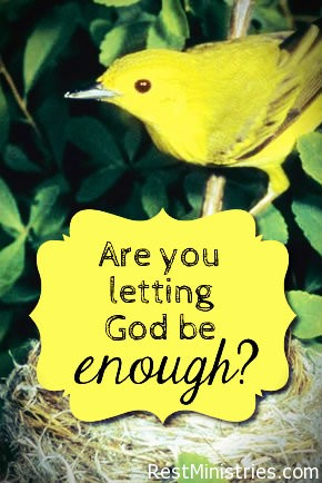 Abiding in God's Grace And Finding Him Sufficient