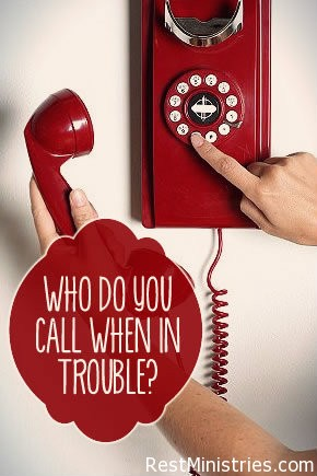 Who Are You Going to Call When in Trouble?