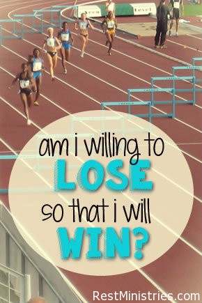 Am I Willing to Lose So That I Can Win?