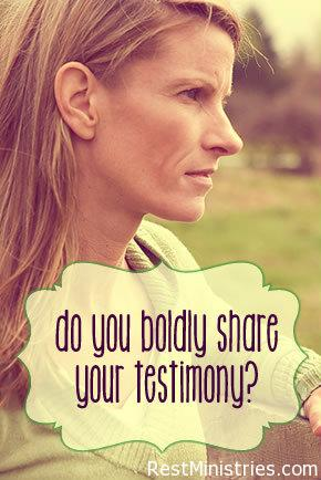 Do You Confidently Share Your Testimony?