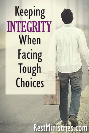 Keeping Integrity When Facing Tough Choices