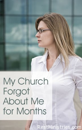 My Church Forgot About Me for Months While I am Ill