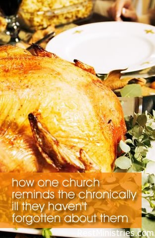 Emmanuel Faith Community Church Reaches Out To Ill at Turkey Time