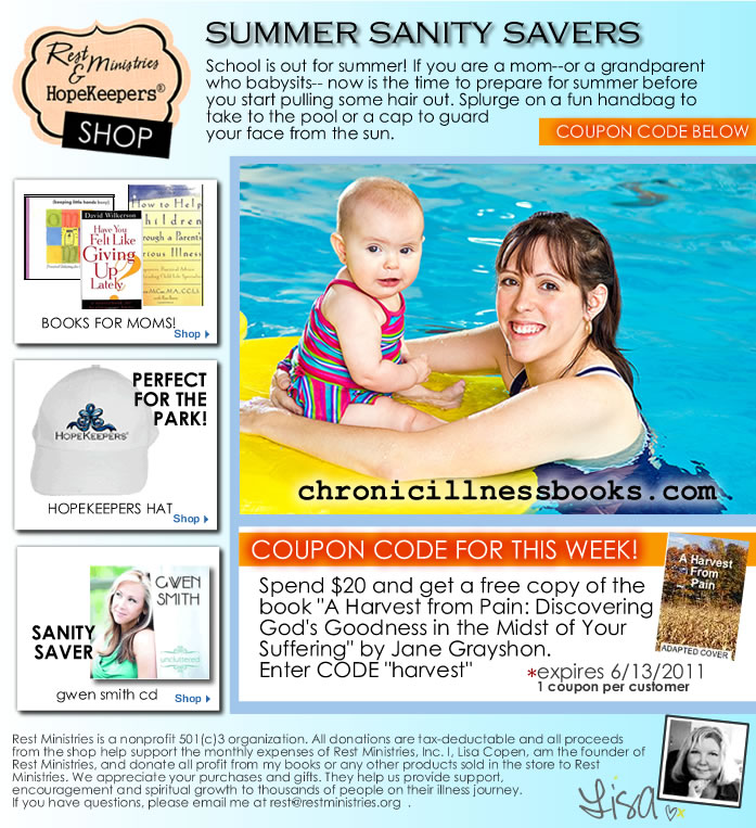 Free Book With $20 Purchase – Stock Up For Summer Sanity