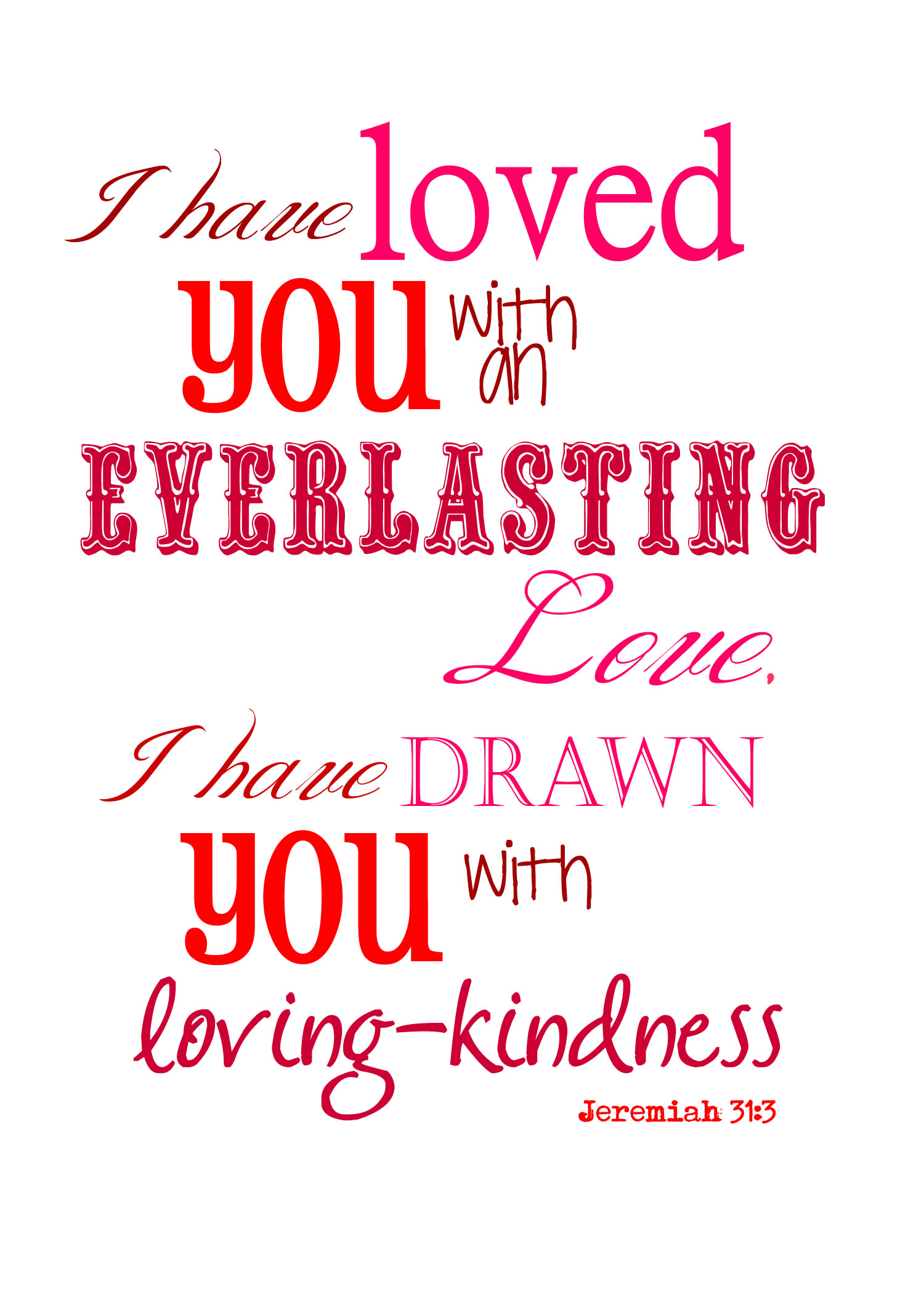 God LOVES You – Free Printable to Share