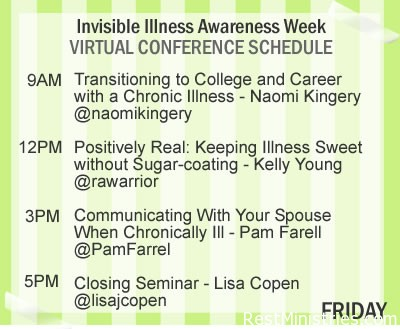 Last Day of Invisible Illness Awareness Week Conference