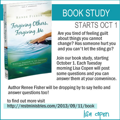 Rest Ministries is Starting a Book Study Oct 1