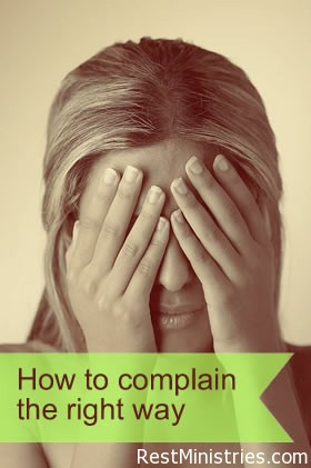 How to Complain With The Right Attitude