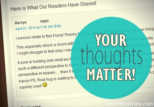 Why Our Devotional Writers Love It When You Comment