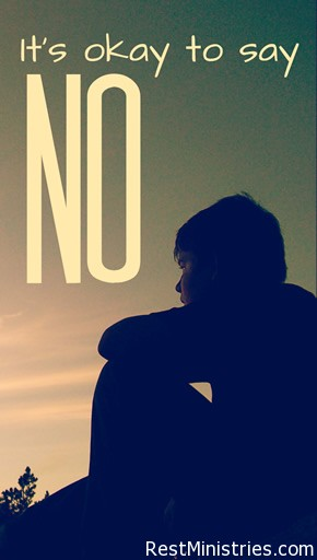 Sometimes We Need to Say No