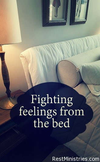 Fighting Feelings of Worthlessness From Our Bed