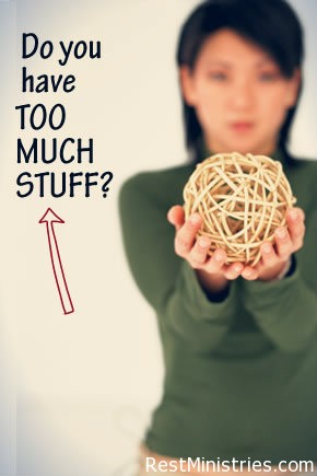 Too Much Stuff? Can Less Become More For You?